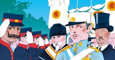 El rey inaugura la Exposición Hispano-francesa