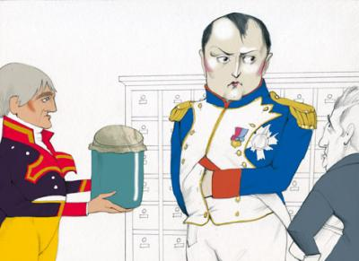 Félix de Azara visita a Napoleón