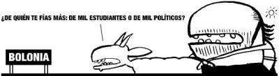 """Manifestación contra """"Bolonia"""""""