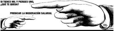 Moderación salarial