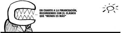 Marcelino Iglesias y la financiación autonómica