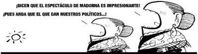 Madonna en Zaragoza