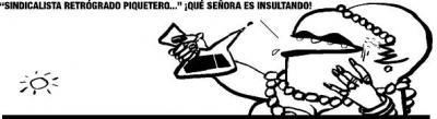 Aguirre dice que Zapatero es un sindicalista retrógrado piquetero. (Luego le pide perdón)