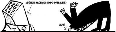Sin acuerdo sobre la ubicación de Expo-paisajes