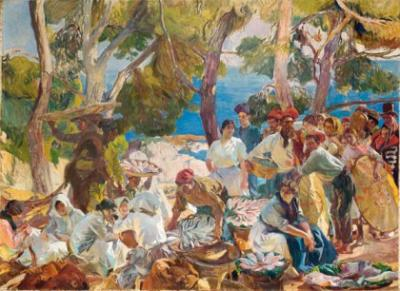 Sorolla en El Prado