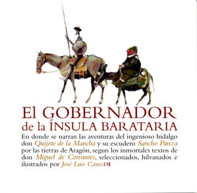 Don Quijote y Sancho en Aragón