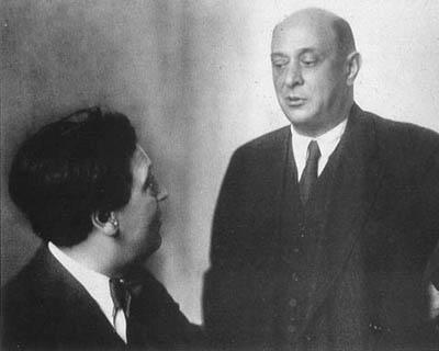 Schoenberg y Berg