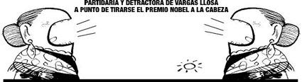 Premio Nobel a Vargas Llosa