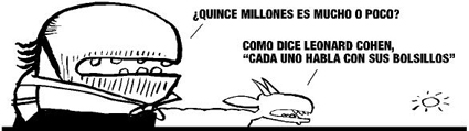 Piden 15.000.000 a Correa y dan 50.000 euros a Leonard Cohen
