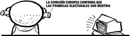 La CE prevé que la economía española se contraiga