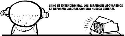 La huelga de Rajoy y el optimismo de la ministra