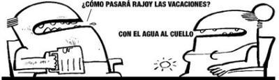 Rajoy se va de vacaciones
