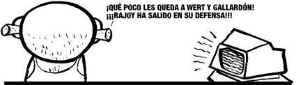Rajoy defiende a Wert y Gallardón