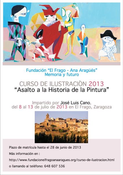 Cursillo de ilustración en El Frago