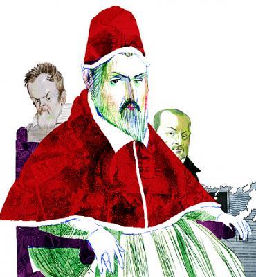 Bartolomé, tras la muerte de Lupercio, visitó al papa y a Galileo